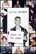 Justin Bieber What do you mean? - plakat