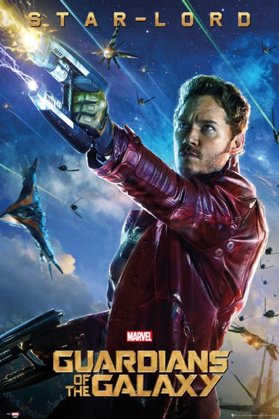 Guardians of the galaxy star lord plakat galeria flash eplakaty