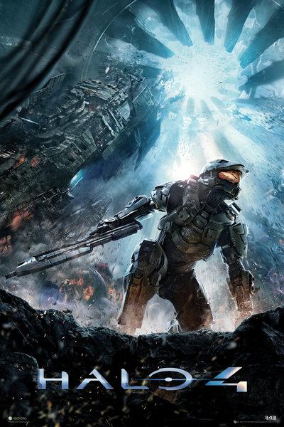 Plakat z gry Halo 4