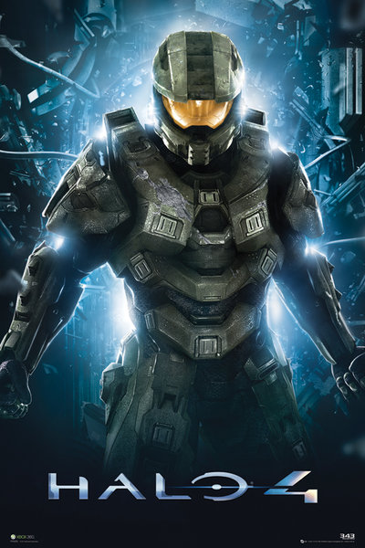 plakat do gry Halo 4